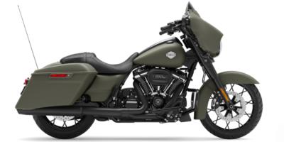 Street Glide Special - DEADWOOD GREEN DENIM ( BLACK) E. 31.700