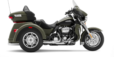 Tri Glide Ultra - DEADWOOD GREEN - VIVID BLACK E. 41.350