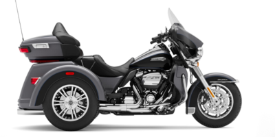 Tri Glide Ultra - GAUNTLET GRAY METALLIC - VIVID BLACK E. 41.350